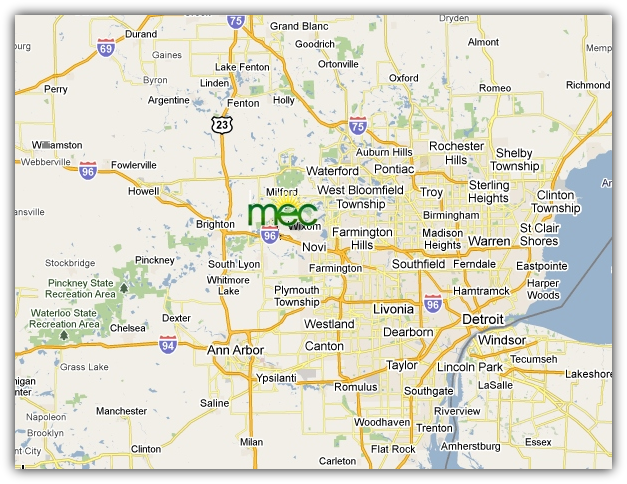 MEC, 55800 Grand River Ave. Suite 125 New Hudson MI